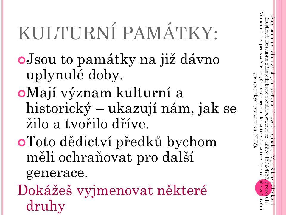 Z ÁMEK Č ERVENÁ L HOTA : Autorem materiálu a všech jeho částí, není-li uvedeno jinak, je Mgr.
