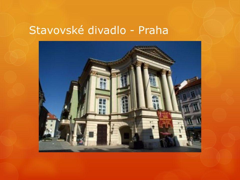 Stavovské divadlo - Praha