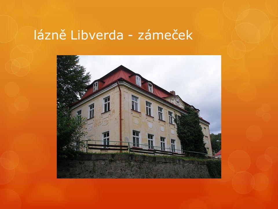 lázně Libverda - zámeček