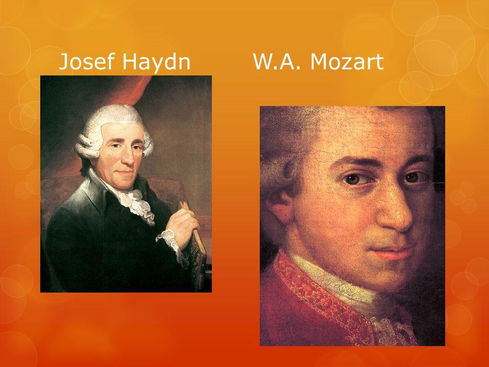 Josef Haydn W.A. Mozart