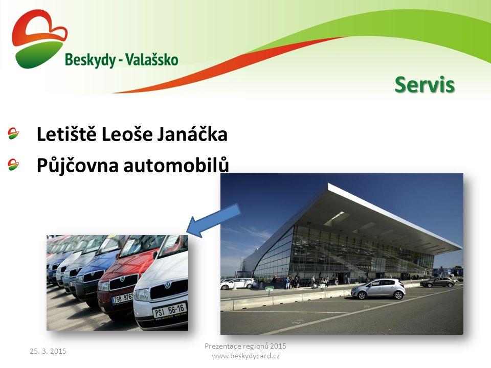 Letiště Leoše Janáčka Půjčovna automobilů 25. 3.