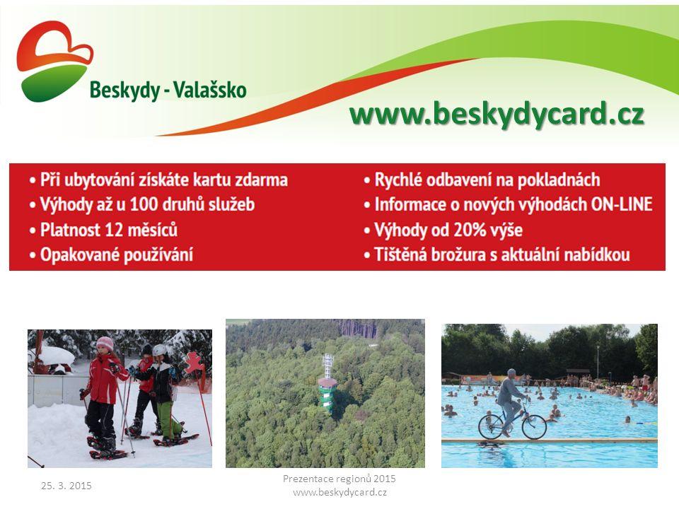 www.beskydycard.cz www.beskydyportal.cz 25. 3. 2015