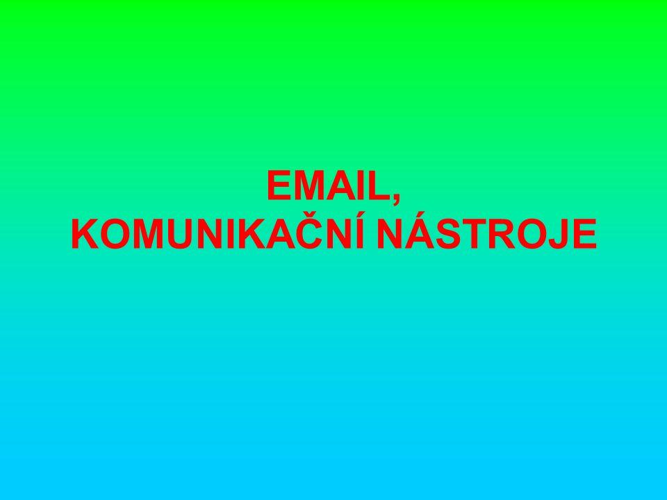 EMAIL Elektronická pošta, zkráceně e-mail, je způsob odesílání, doručování a přijímání zpráv přes elektronické komunikační systémy.