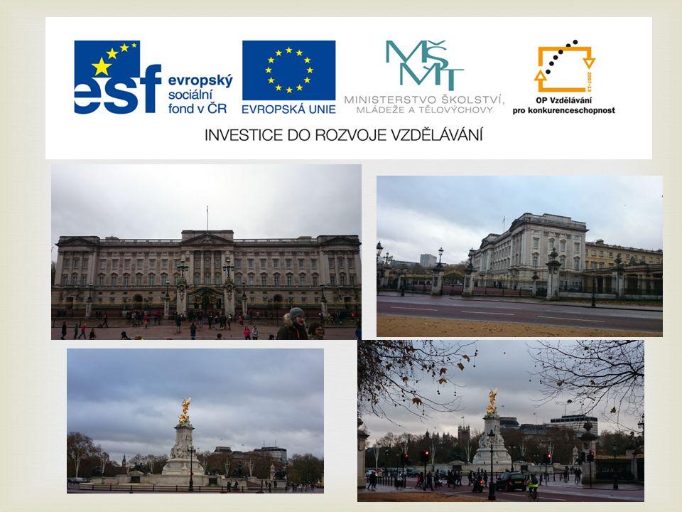   Westminsterský palác a Big Ben  Wesminsterský palác bývá také označován jako The Houses of Parliament.
