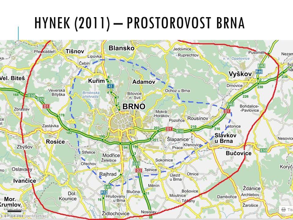 HYNEK (2011) – PROSTOROVOST BRNA