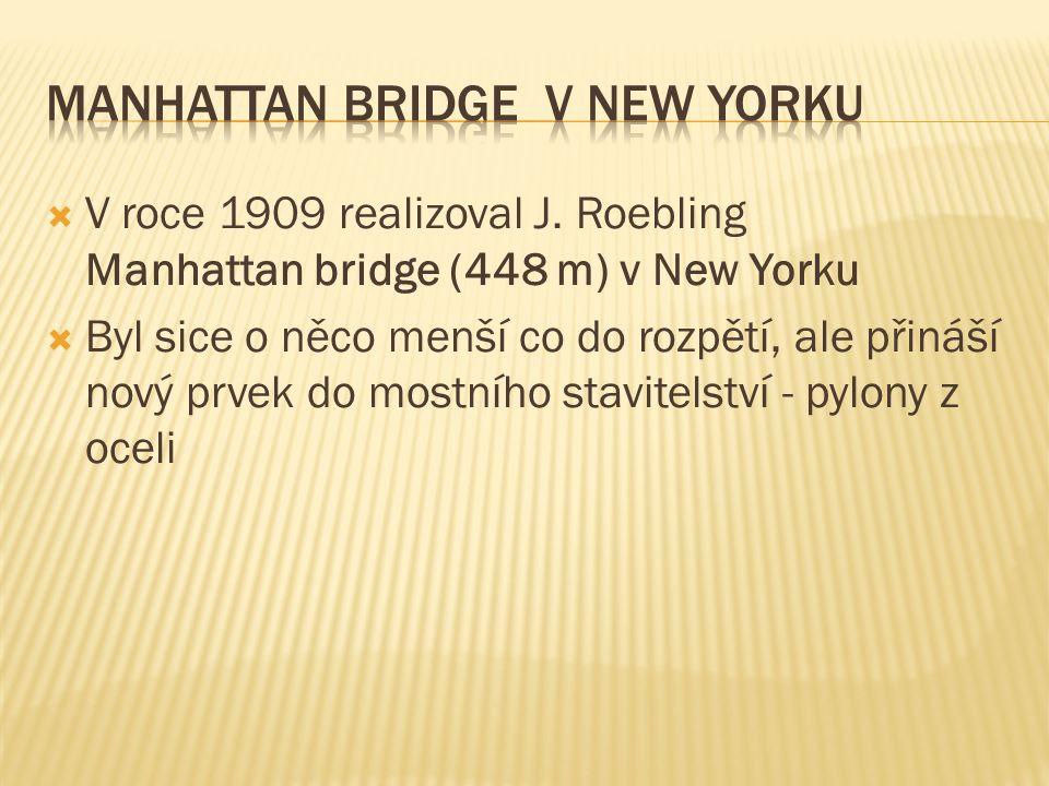  V roce 1909 realizoval J.
