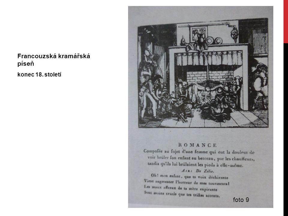 Francouzská kramářská píseň konec 18. století foto 9