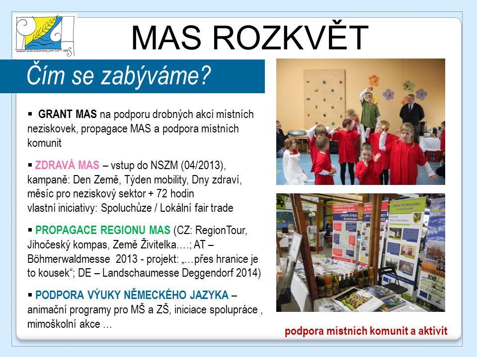 MAS ROZKVĚT Děkuji za pozornost! 3.6.2014 www.masrozkvet.cz www.portalprace-jiznicechy.cz ©