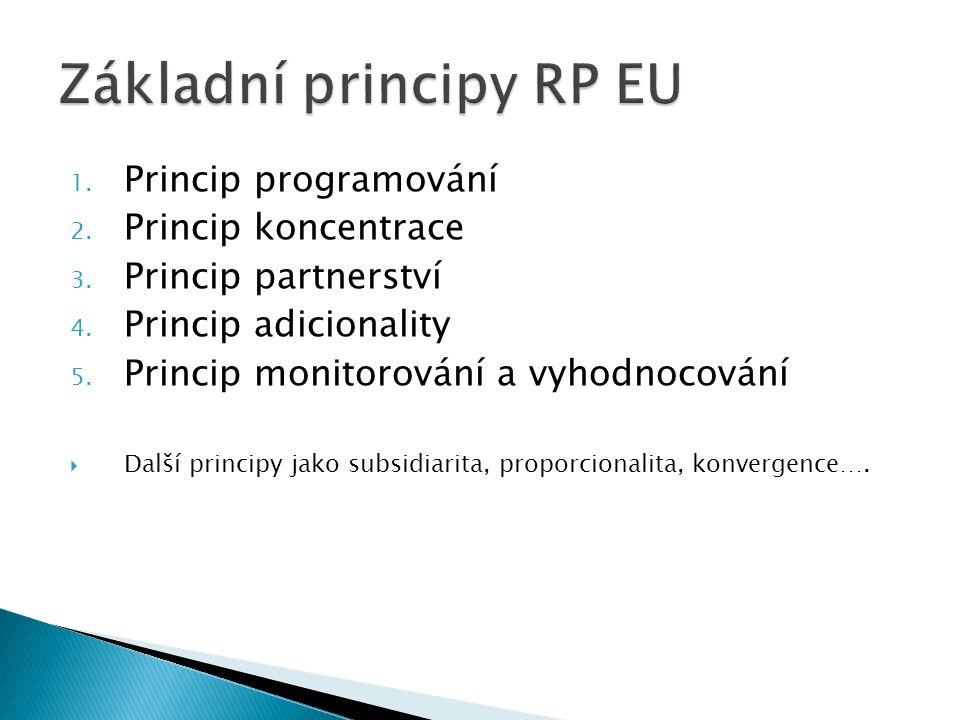 1. Princip programování 2. Princip koncentrace 3.