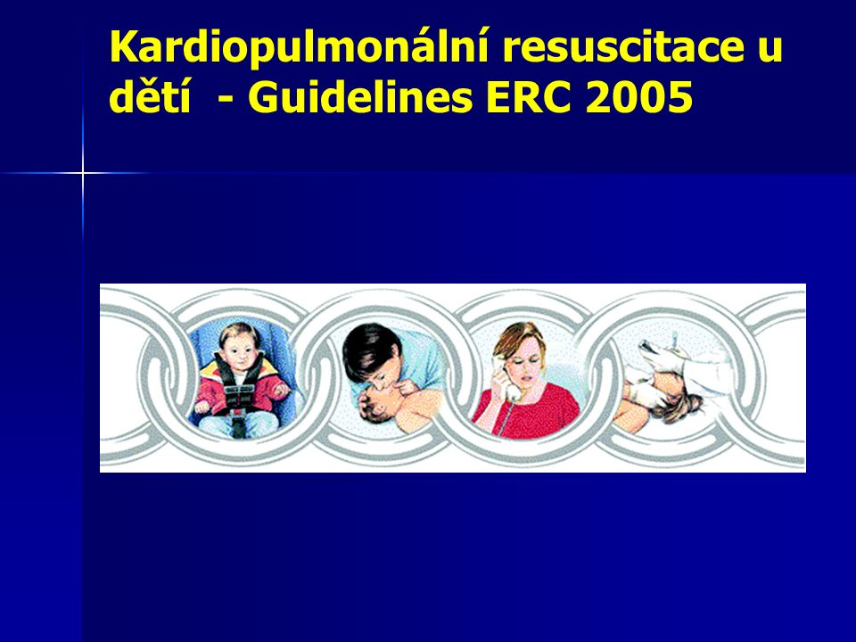 Resuscitace dětí je odlišná od resuscitace dospělých.