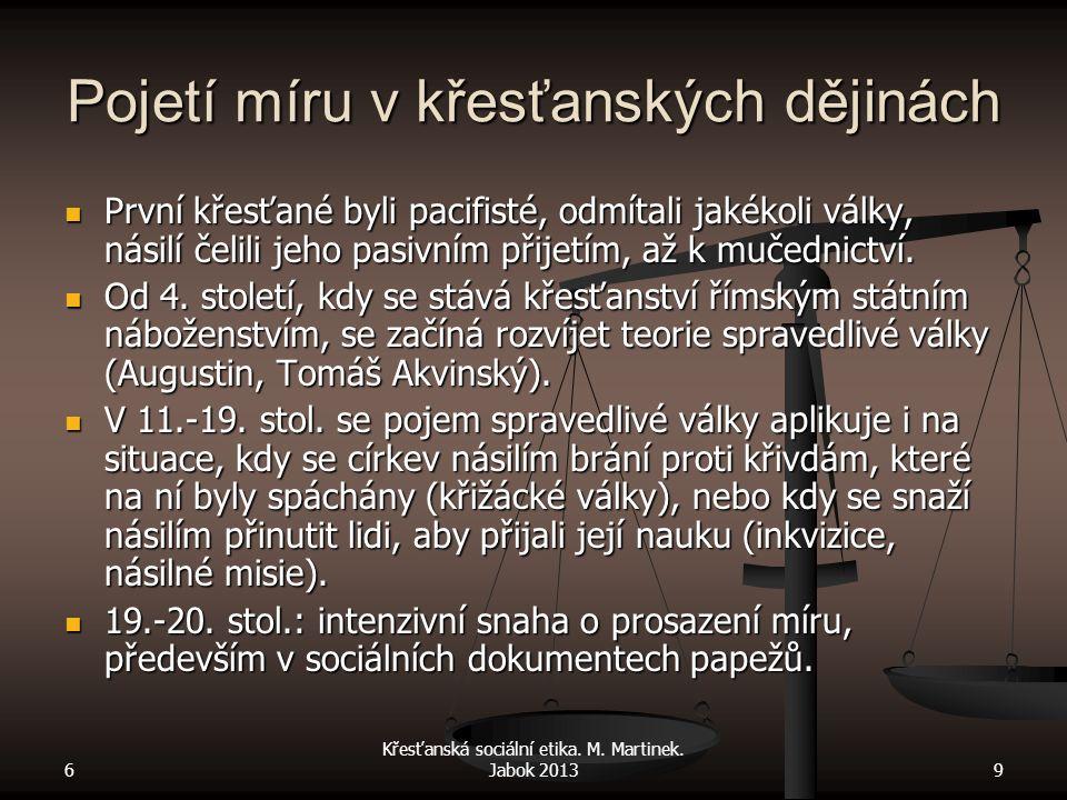 6 Křesťanská sociální etika.M. Martinek.