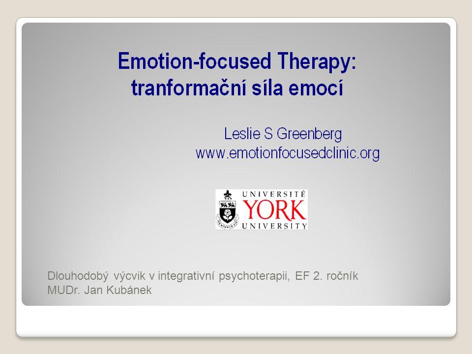 Dlouhodobý výcvik v integrativní psychoterapii, EF 2. ročník MUDr. Jan Kubánek