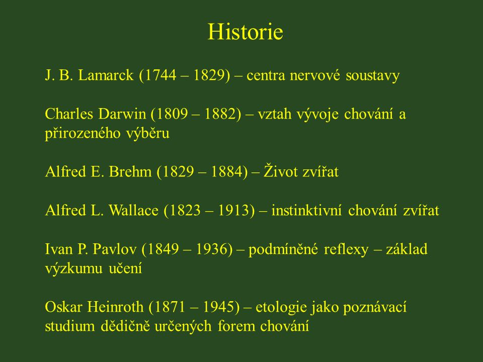 Historie J. B.