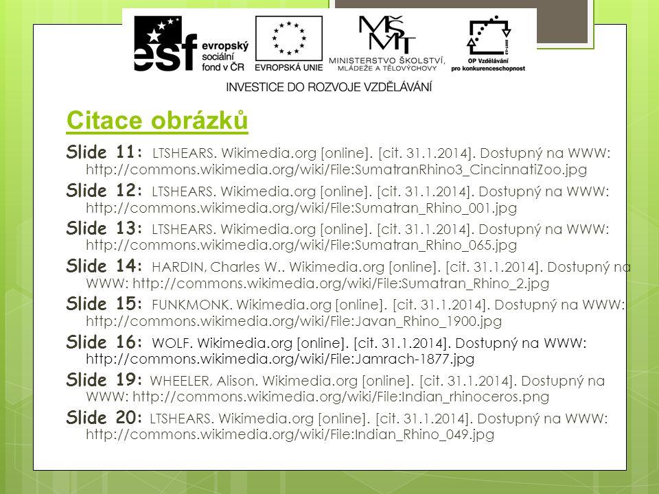 Citace obrázků Slide 11: LTSHEARS. Wikimedia.org [online].