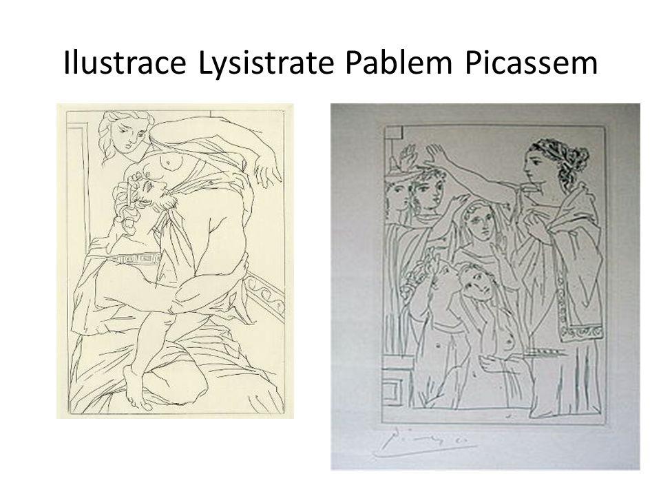 Ilustrace Lysistrate Pablem Picassem