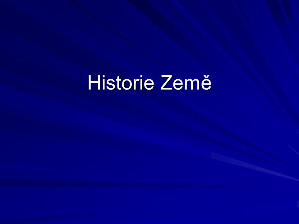 Historie Země