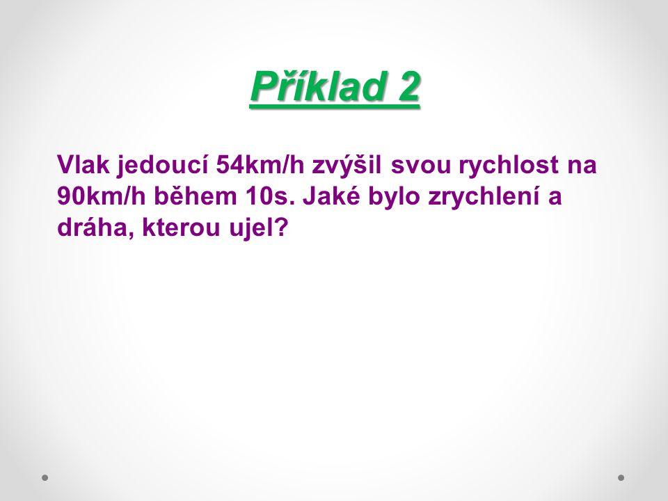 Příklad Kolo o průměru 0,8m se otáčí s frekvencí 5Hz.