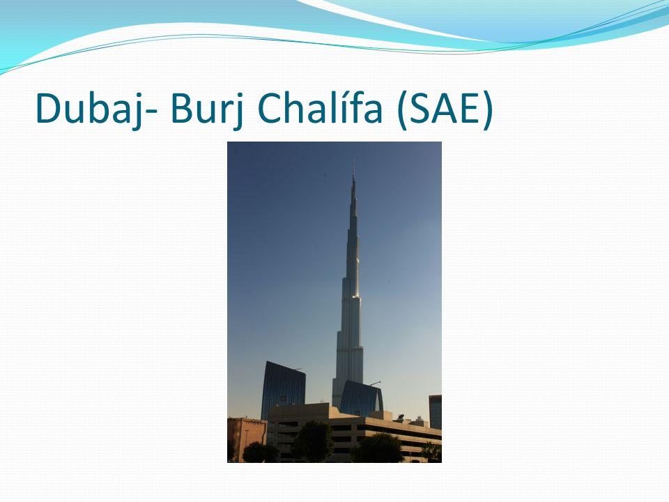 Dubaj- Burj Chalífa (SAE)