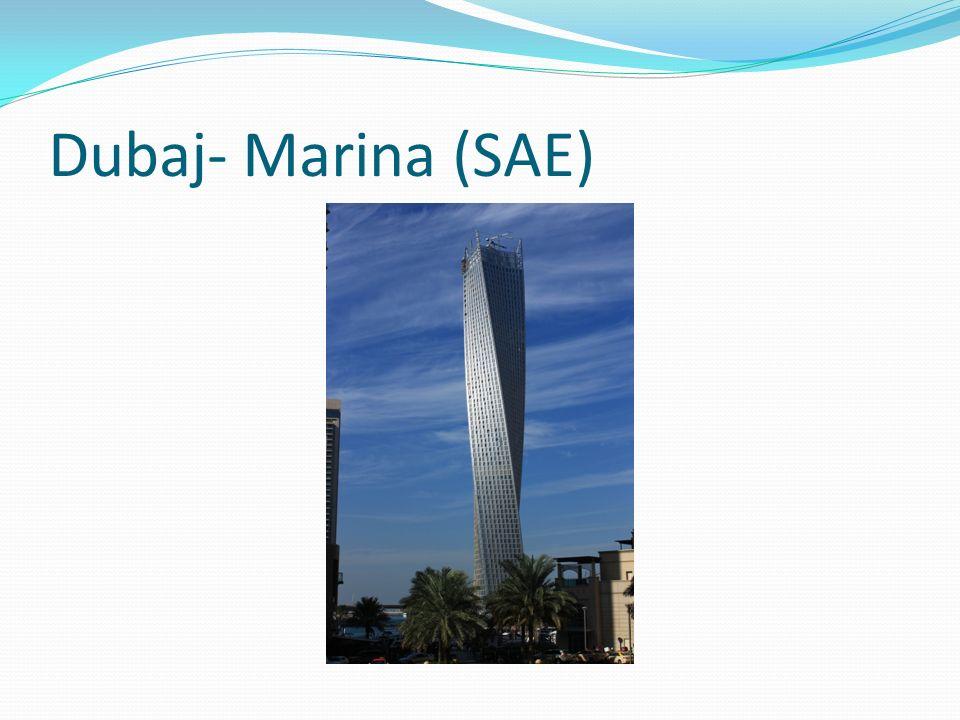 Dubaj- Marina (SAE)