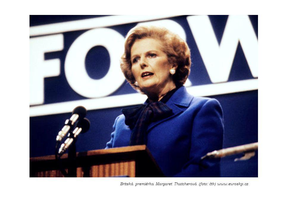 Britská premiérka Margaret Thatcherová (foto: čtk) www.euroskp.cz