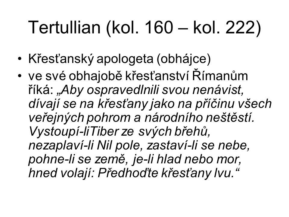 Tertullian (kol. 160 – kol.