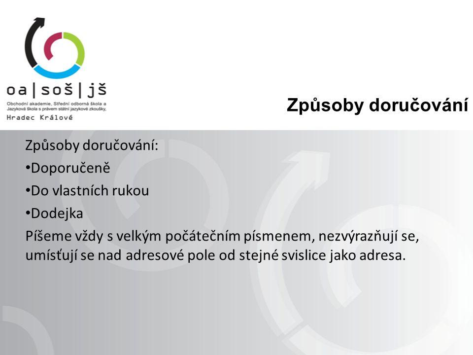 Ukázky adres ELEKROTEKO, s.r. o. zásilkový prodejDružstevní 15 p.