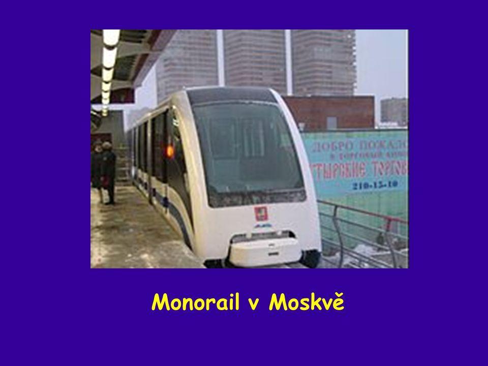 Monorail v Moskvě