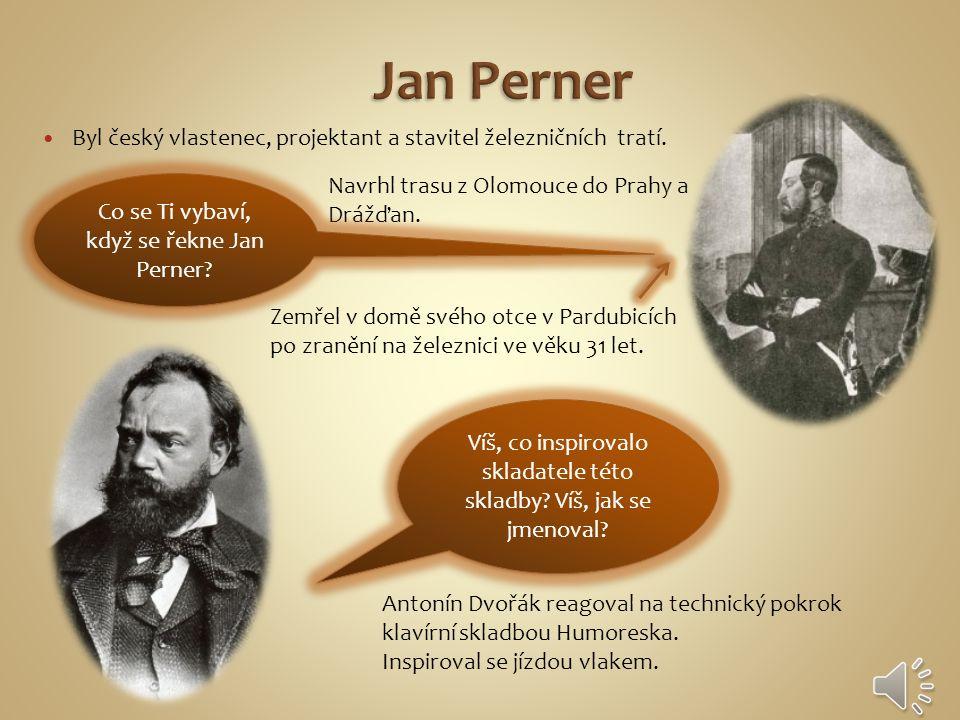 Byl český vlastenec, projektant a stavitel železničních tratí.