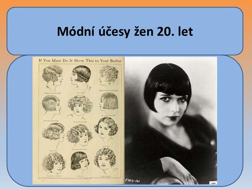 Módní účesy žen 20. let