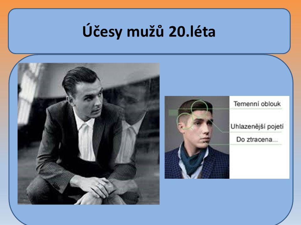 Účesy mužů 20.léta