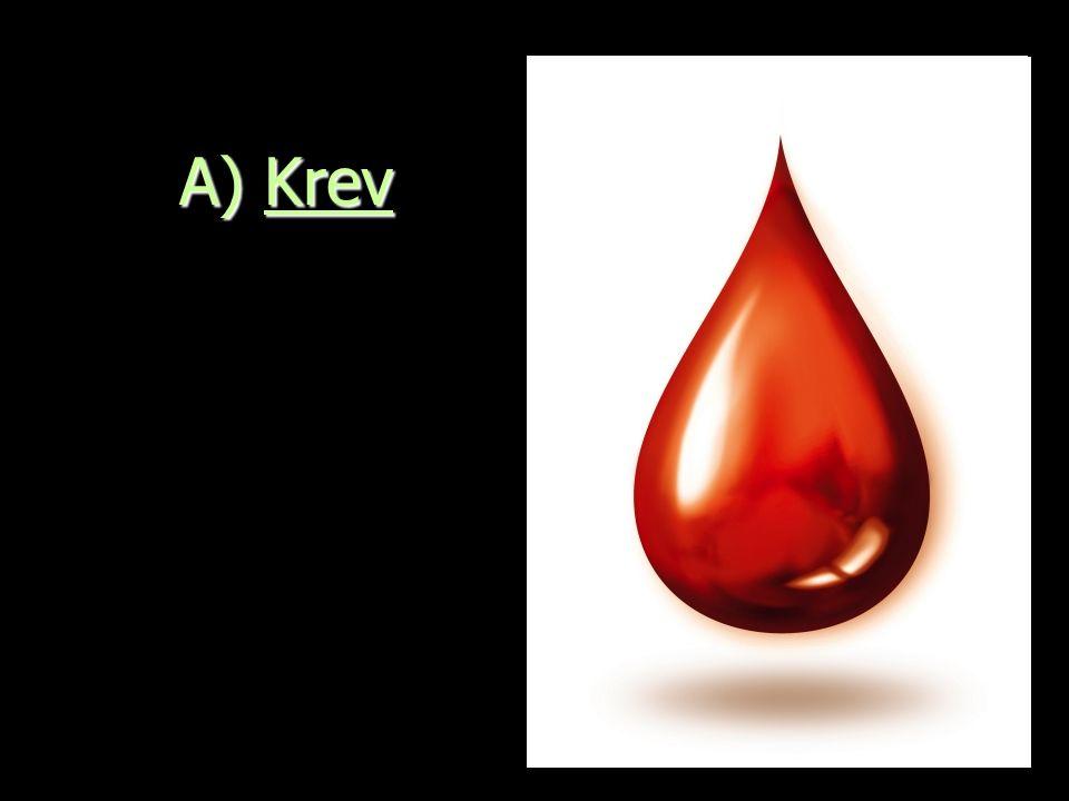 Složení krve Dvě složky Krevní plazma (90%) : Nažloutlá tekutina s rozpuštěnými látkami, které se přenáší k buňkám.