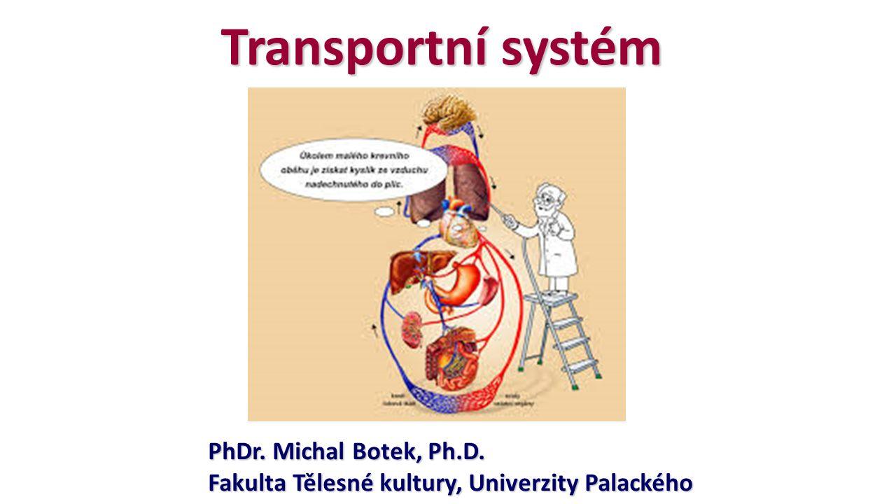 Transportní systém PhDr. Michal Botek, Ph.D. Fakulta Tělesné kultury, Univerzity Palackého