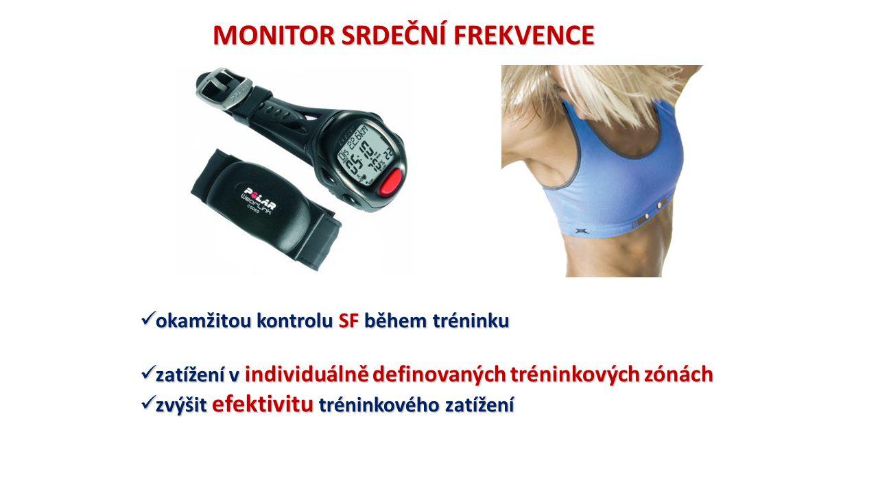 okamžitou kontrolu SF během tréninku okamžitou kontrolu SF během tréninku zatížení v individuálně definovaných tréninkových zónách zatížení v individu