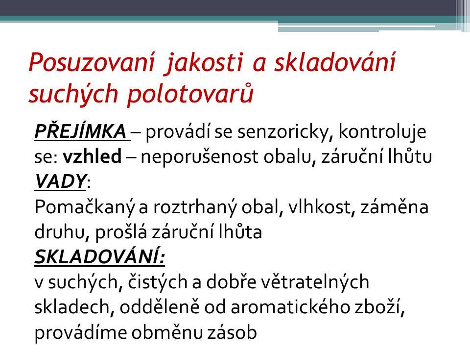 ZDROJE Josef Kavina, ZBOŽÍZNALSTVÍ potravinářského zboží pro 2.