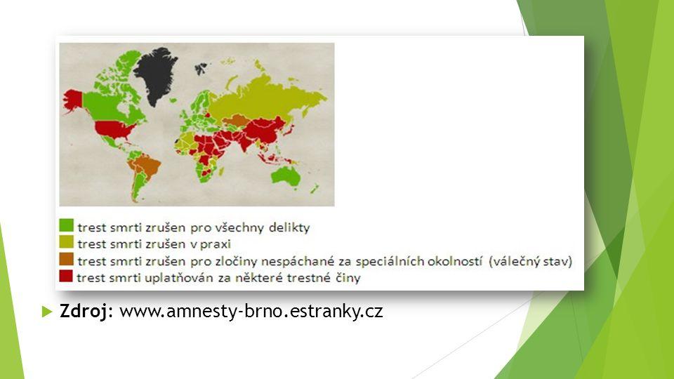  Zdroj: www.amnesty-brno.estranky.cz
