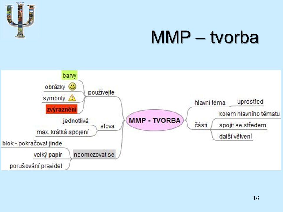 MMP – tvorba 16
