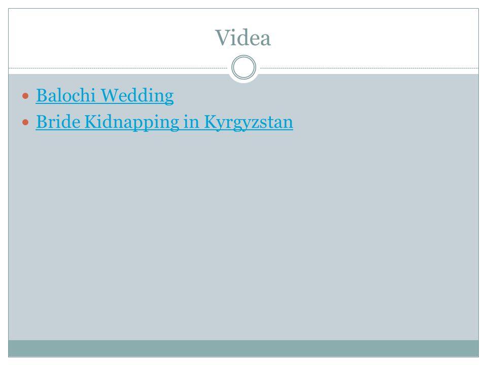 Videa Balochi Wedding Bride Kidnapping in Kyrgyzstan