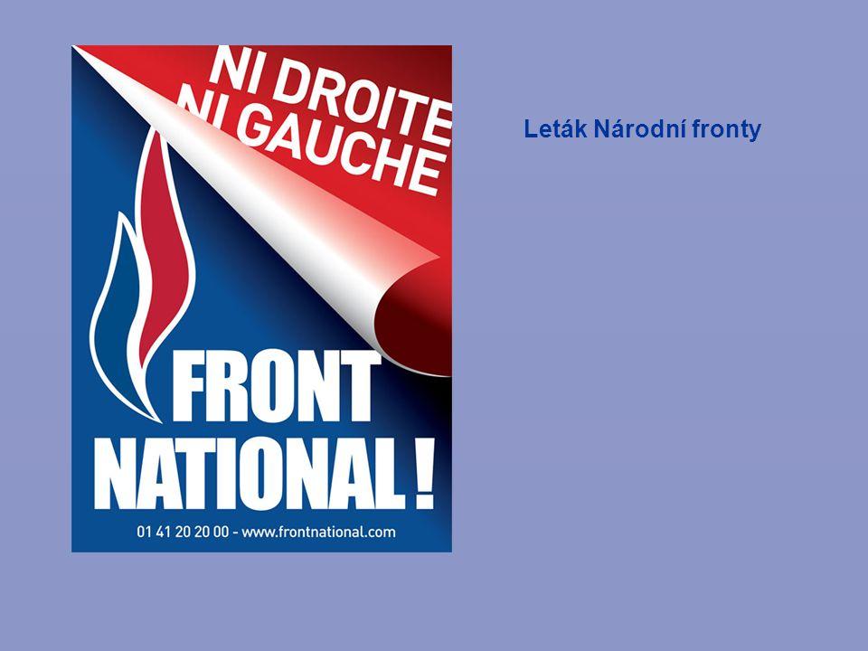 Leták Národní fronty