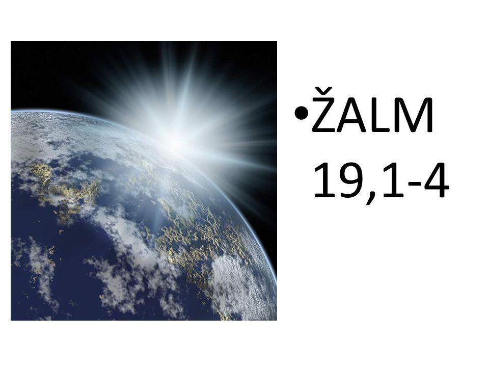 ŽALM 19,1-4