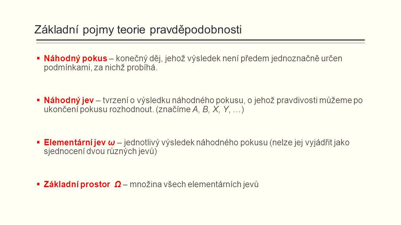 Využití Bayesovy věty v lékařské diagnostice Předpokládejme, že známe: Co nás zajímá.