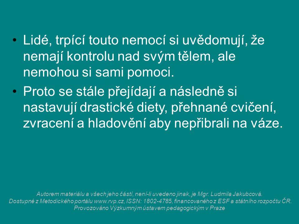 Autorem materiálu a všech jeho částí, není-li uvedeno jinak, je Mgr. Ludmila Jakubcová. Dostupné z Metodického portálu www.rvp.cz, ISSN: 1802-4785, fi