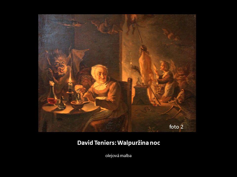 David Teniers: Walpuržina noc olejová malba foto 2