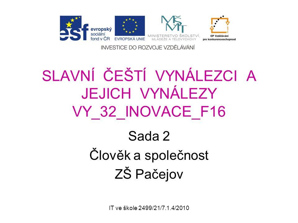 IT ve škole 2499/21/7.1.4/2010 Správné řešení Jaroslav Heyrovský narodil se 20.12.1890 v Praze zemřel 27.3.1967 v Praze