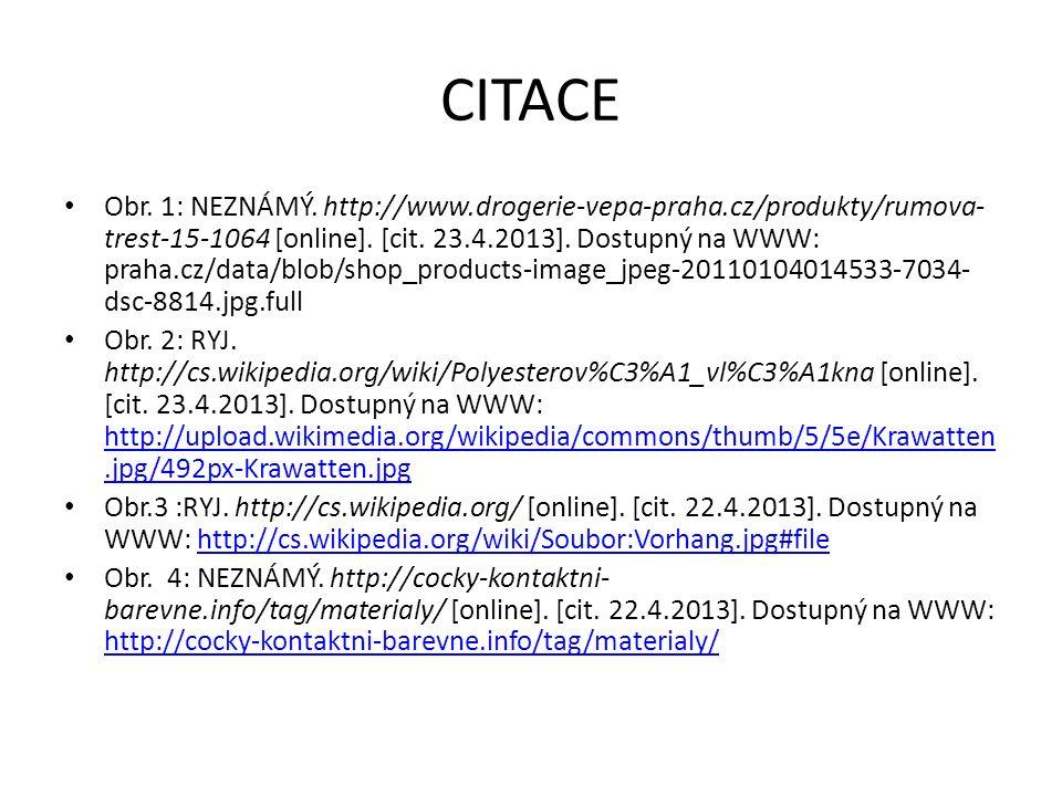 CITACE Obr. 1: NEZNÁMÝ. http://www.drogerie-vepa-praha.cz/produkty/rumova- trest-15-1064 [online]. [cit. 23.4.2013]. Dostupný na WWW: praha.cz/data/bl