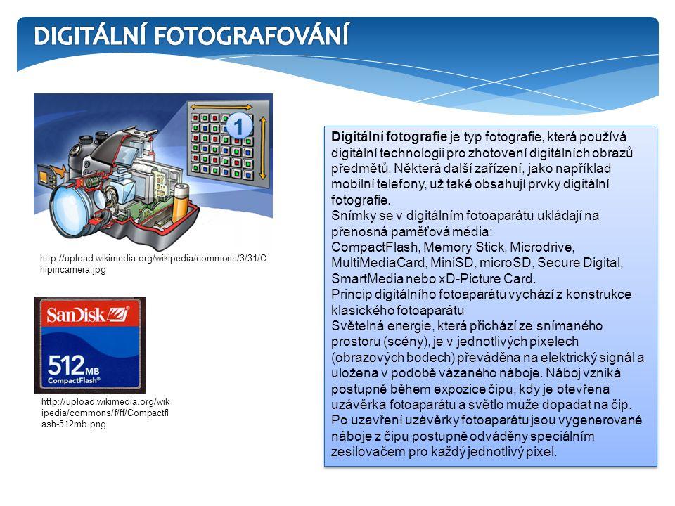 Digitální fotografie je typ fotografie, která používá digitální technologii pro zhotovení digitálních obrazů předmětů.