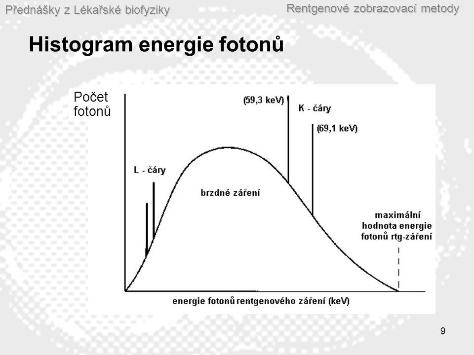 Přednášky z Lékařské biofyziky Rentgenové zobrazovací metody 10 Hlavní části rentgenového přístroje  Rengenka  Generátor napětí a proudu: -Vysokonapěťový transformátor – poskytuje vysoké napětí (až 150kV) -Usměrňovač - poskytuje stejnosměrný proud – zajišťuje jednosměrný pohyb proudu elektronů v rentgence.