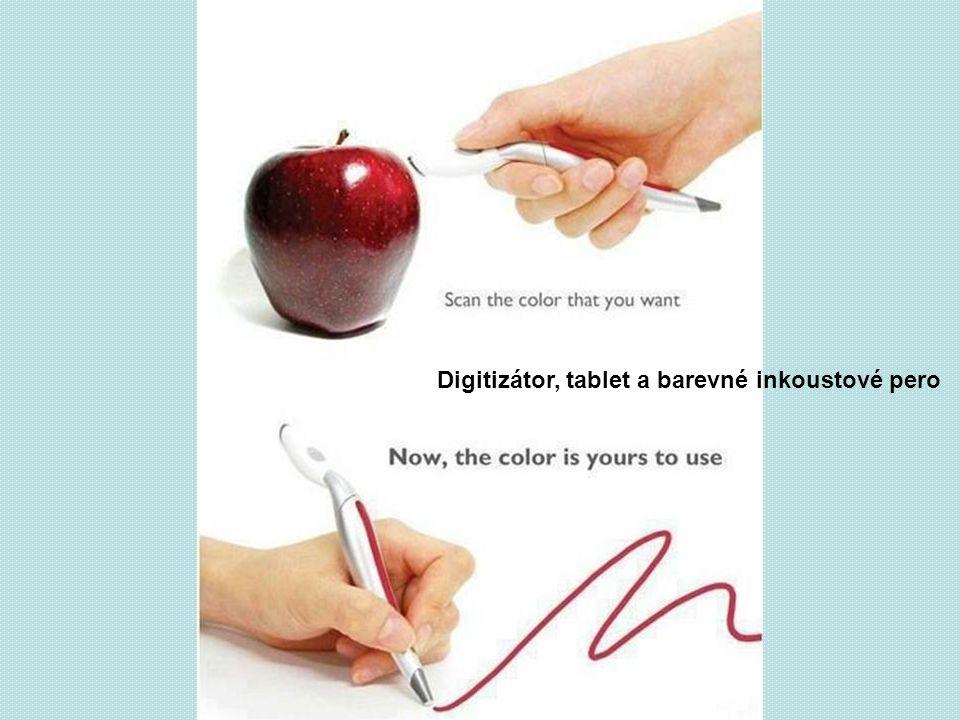 Digitizátor, tablet a barevné inkoustové pero