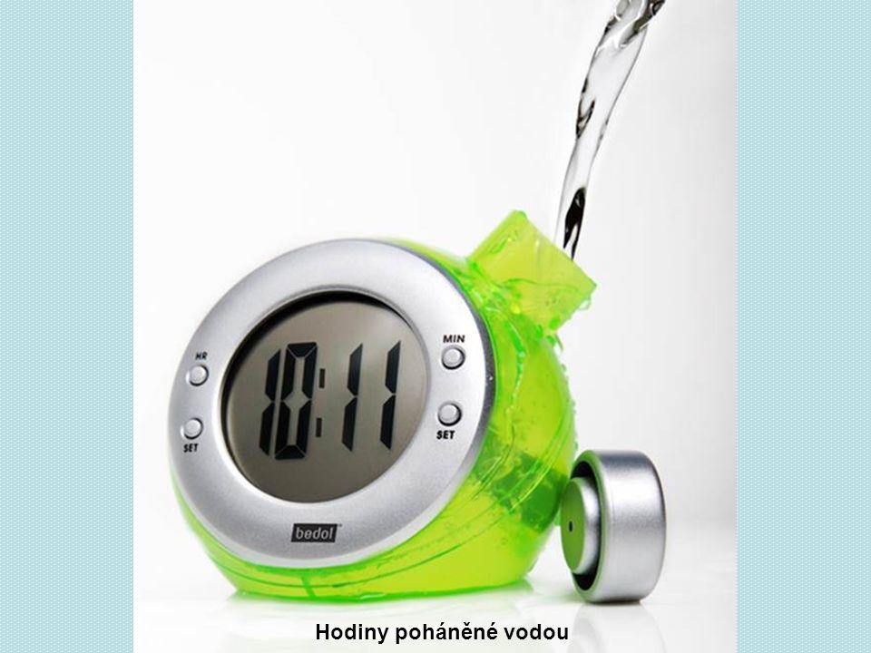 Hodiny poháněné vodou