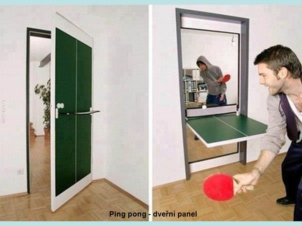 Ping pong - dveřní panel