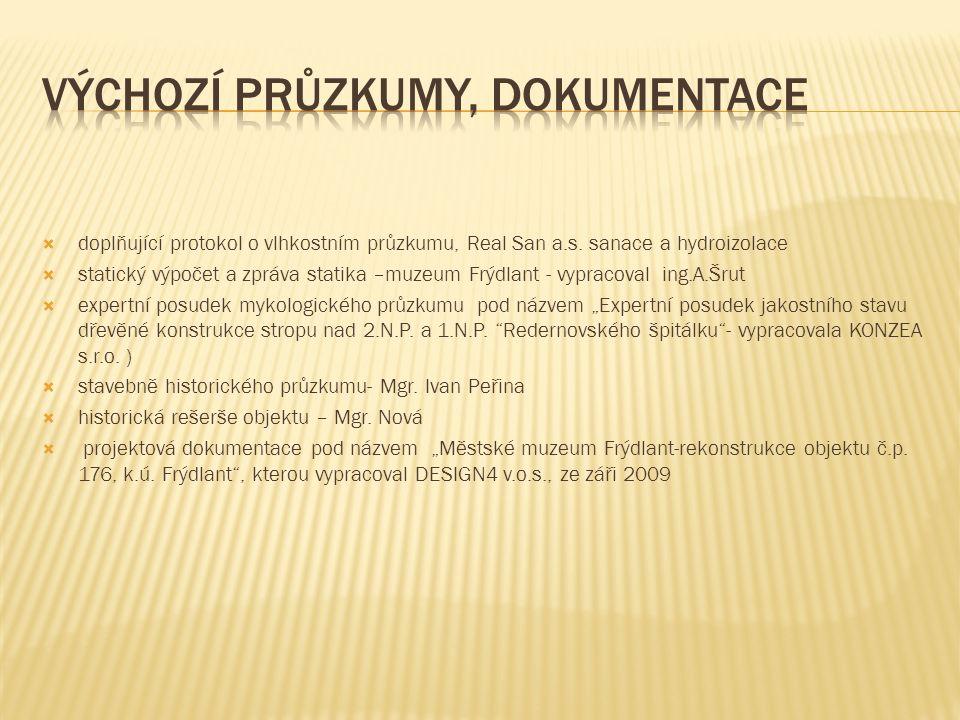  doplňující protokol o vlhkostním průzkumu, Real San a.s.